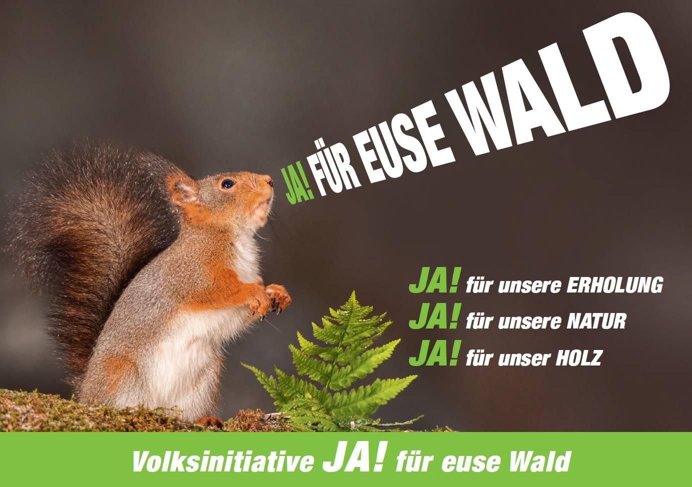 JA! für euse Wald